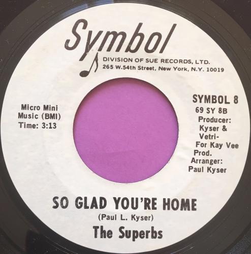 Superbs-So glad you're home-Symbol WD E+