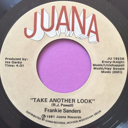 Frankie Saunders-Take another look-Juana E+
