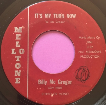 Billy McGregor-It's my turn-Melotone wol E-