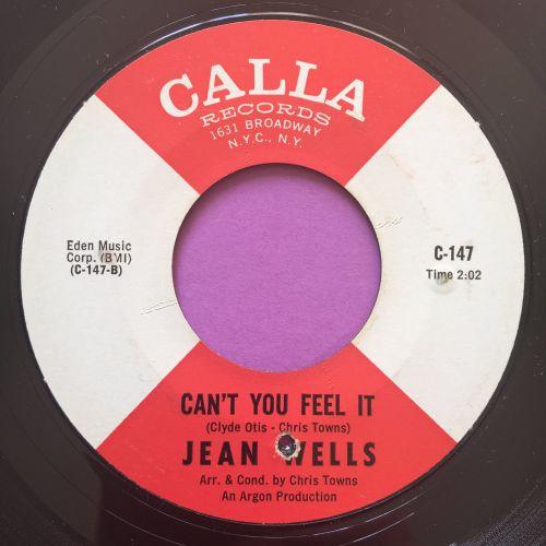 Jean Wells-Can you feel it-Calla E+