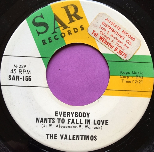 Valentinos-Everybody wants to fall in love-SAR E+