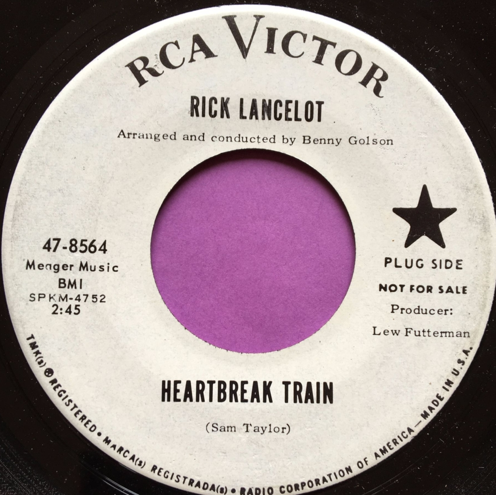 Rick Lancelot-Heartbreak train-RCA WD E+