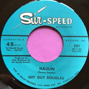 Shy Guy Douglas-Haulin-Sur-speed E+