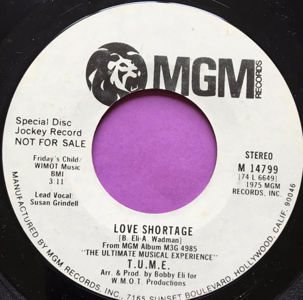 T.U.M.E-Love shortage-MGM WD E+