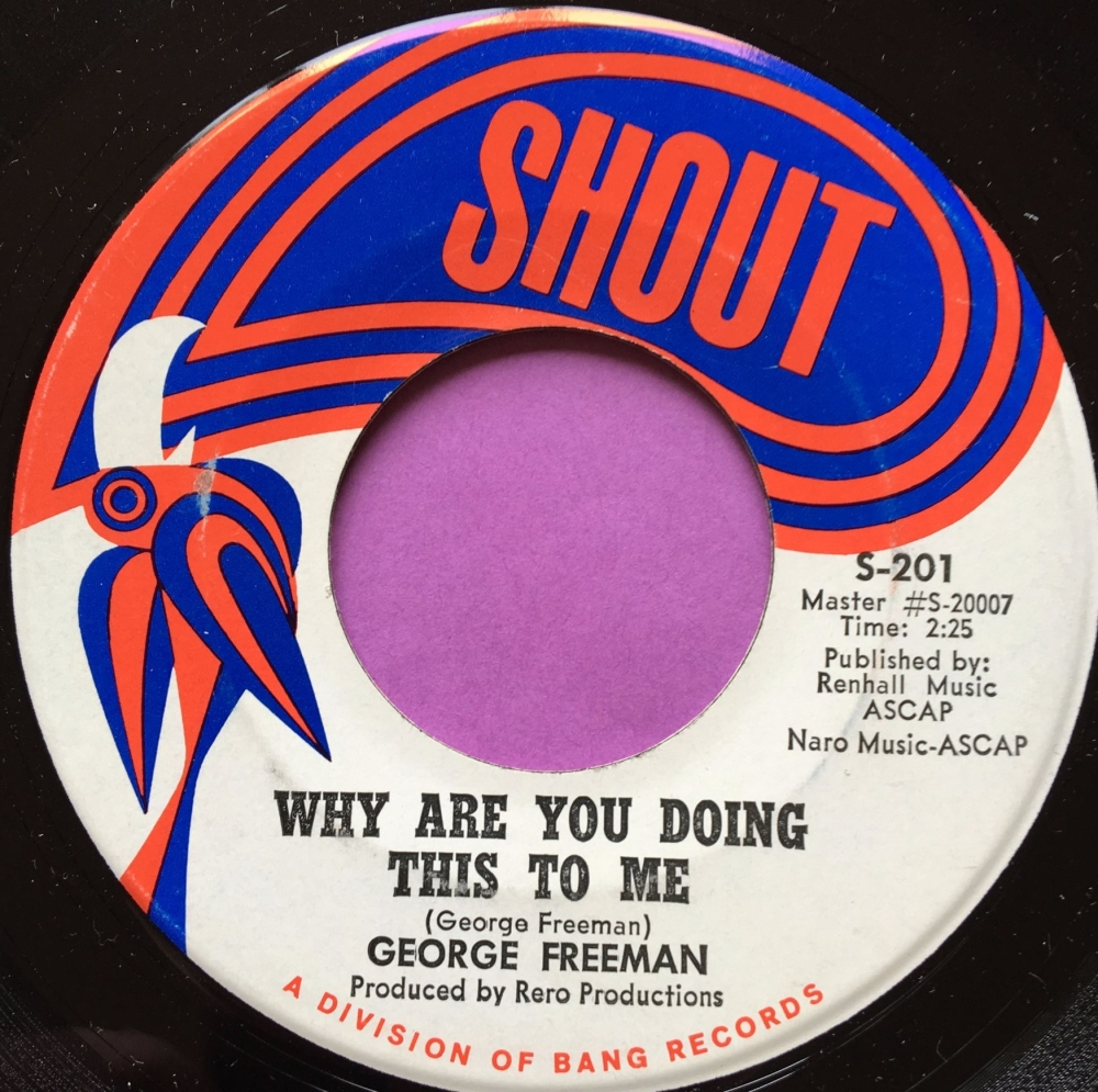 George Freeman-Why are you doing this to me-Shout E+