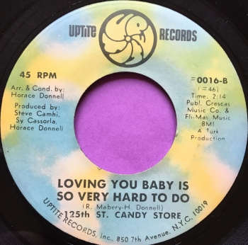 125th St. Candy Store-Loving you baby-Uptite E+
