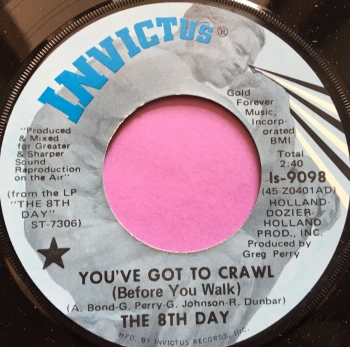 8th Day-You've got to crawl-Invictus E+