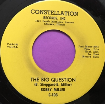 Bobby Miller-The big question-Constellation E+