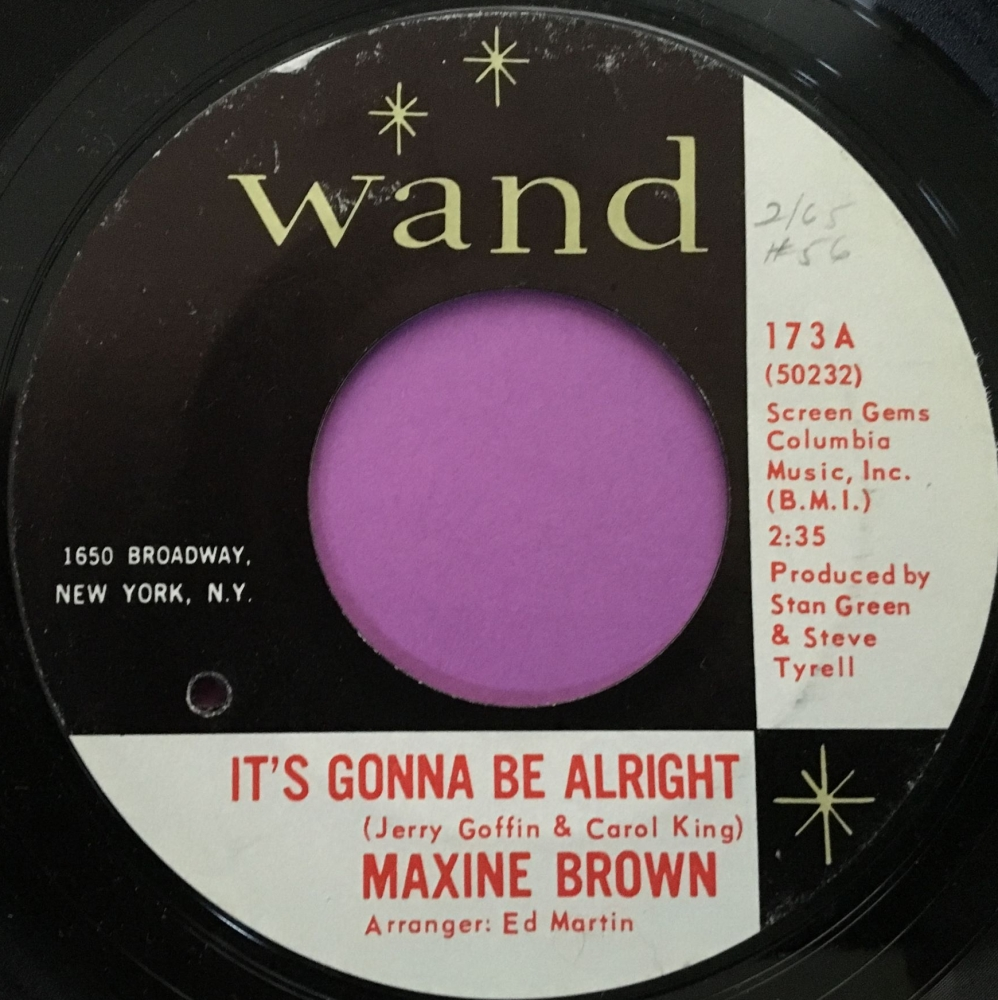 Maxine Brown-It's gonna be alright-Wand E+