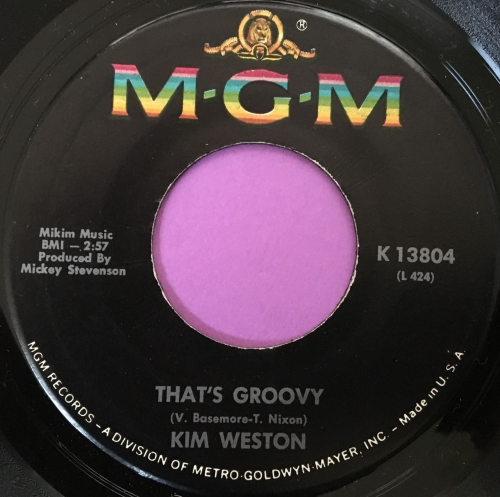 Kim Weston-That's groovy-MGM E+