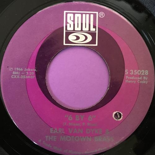 Earl Van Dyke-6 by 6-Soul E+