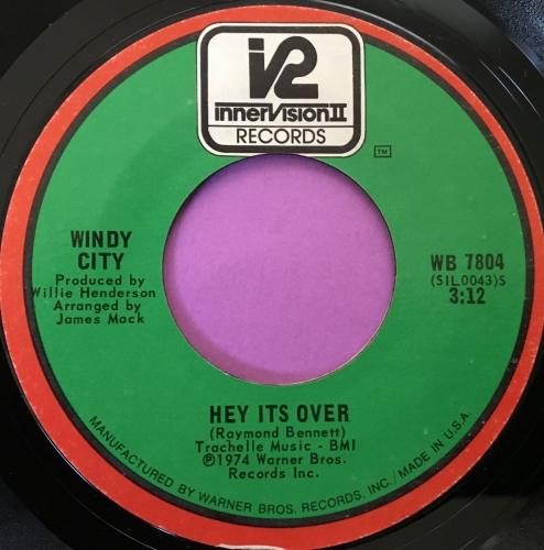 Windy City-Hey it's over-Innovation E+