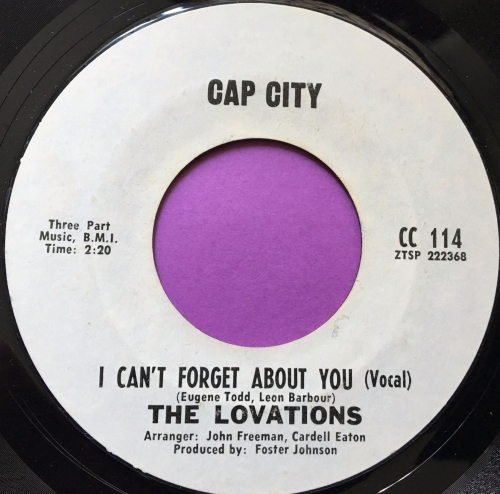 Lovations-I can't forget about you-Cap city E+