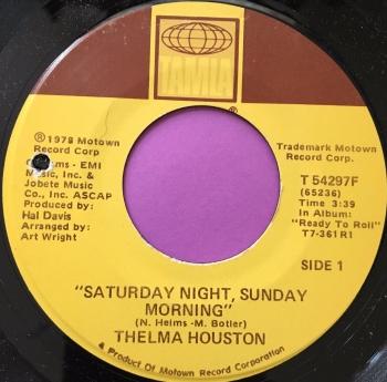 Thelma Houston-Saturday night, Sunday morning-Tamla E+