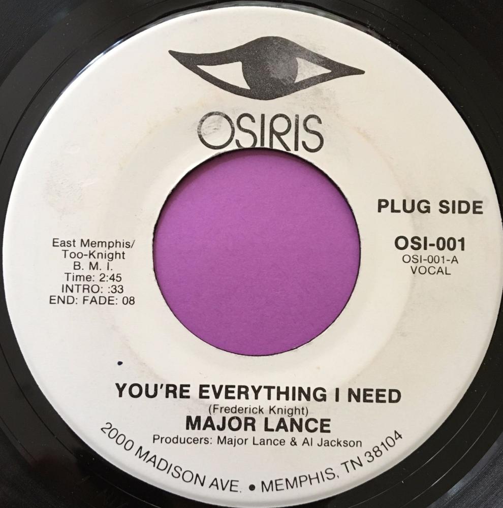 Major Lance-You're everything I need-Osiris WD E+