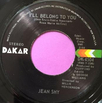 Jean Shy-I'll belong to you-Dakar M-