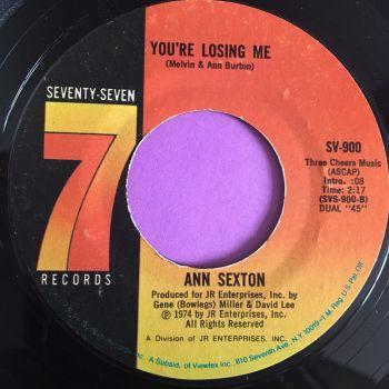 Ann Sexton-You're losing me-Seventy 7 E+