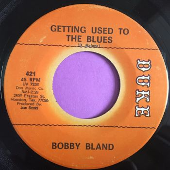 Bobby Bland-Getting used to the blues-Duke E+
