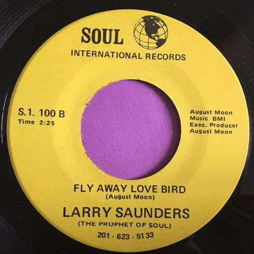 Larry Saunders-Fly away love bird-Soul int. M-