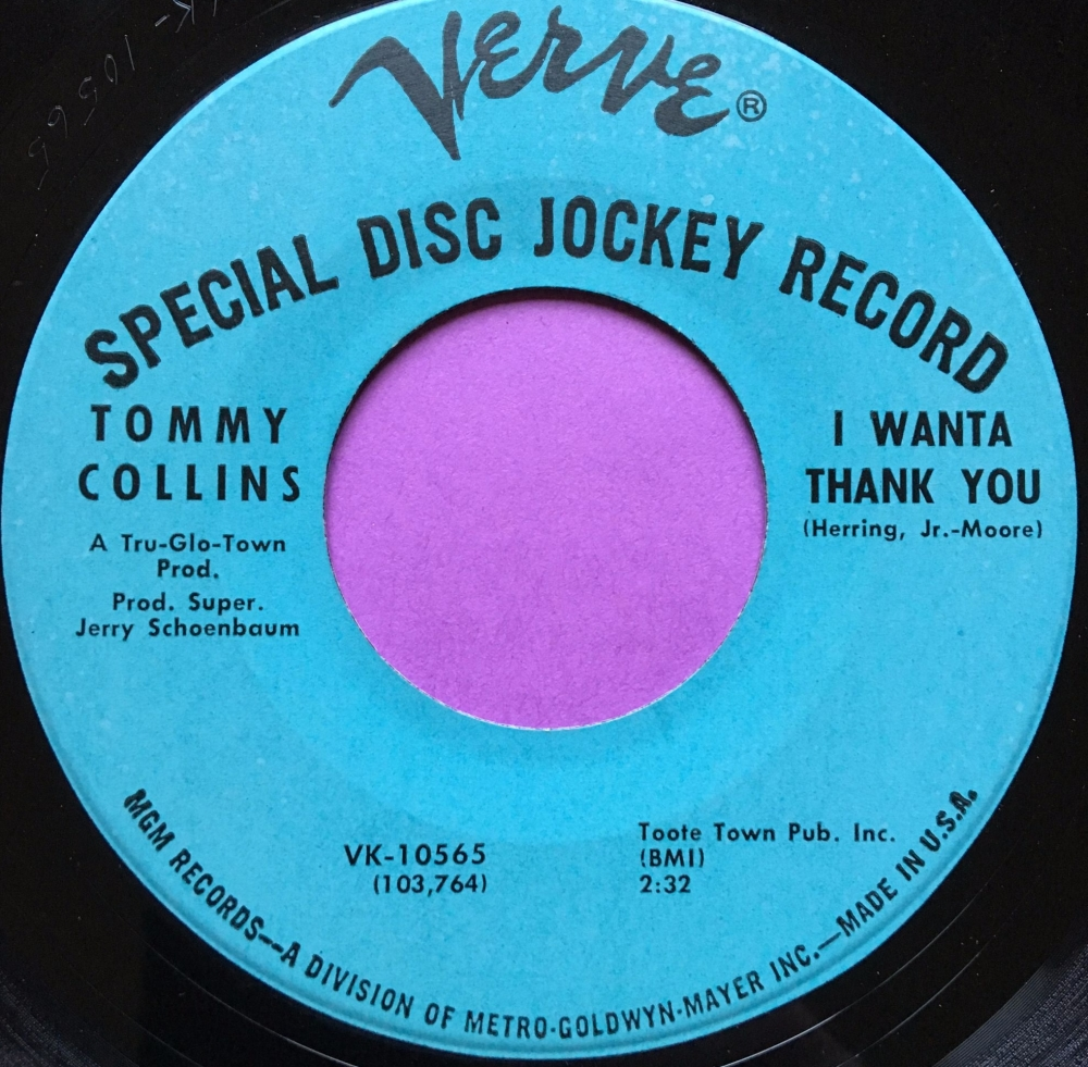 Tommy Collins-I wanta thank you-Verve M-