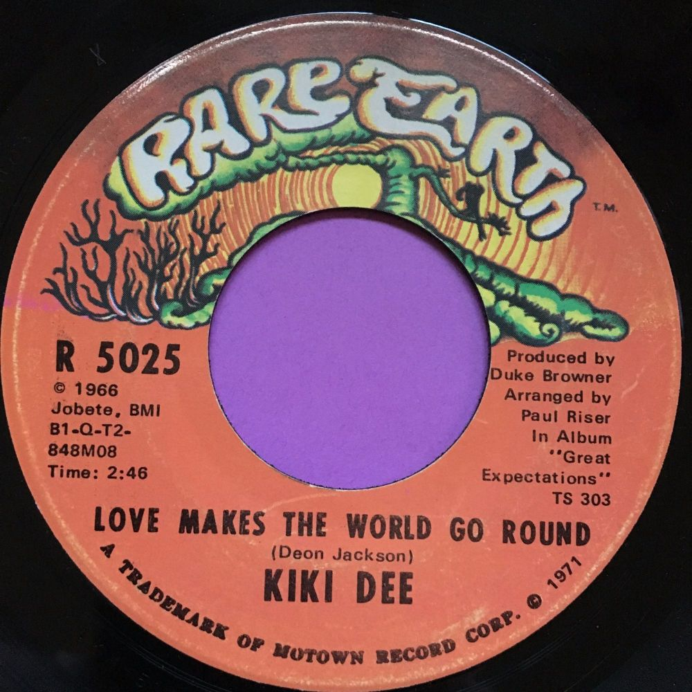 Kiki Dee-Love makes the world go round-Rare earth E+