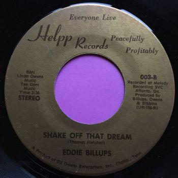 Eddie Billups-Shake off that dream-Hepp me E-