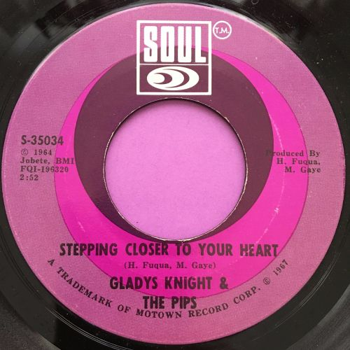 Gladys Knight-Stepping closer to your heart-Soul E+