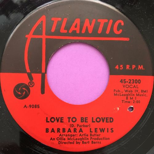 Barbara Lewis-Love to be loved-Atlantic M-