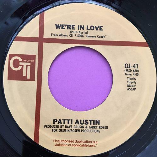 Patti Austin-We're in love-CTI E+