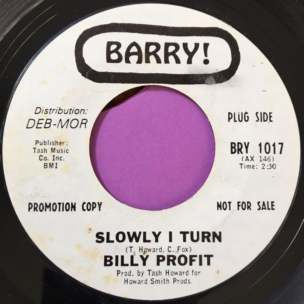 Billy Profit-Slowly I turn-Barry WD E+