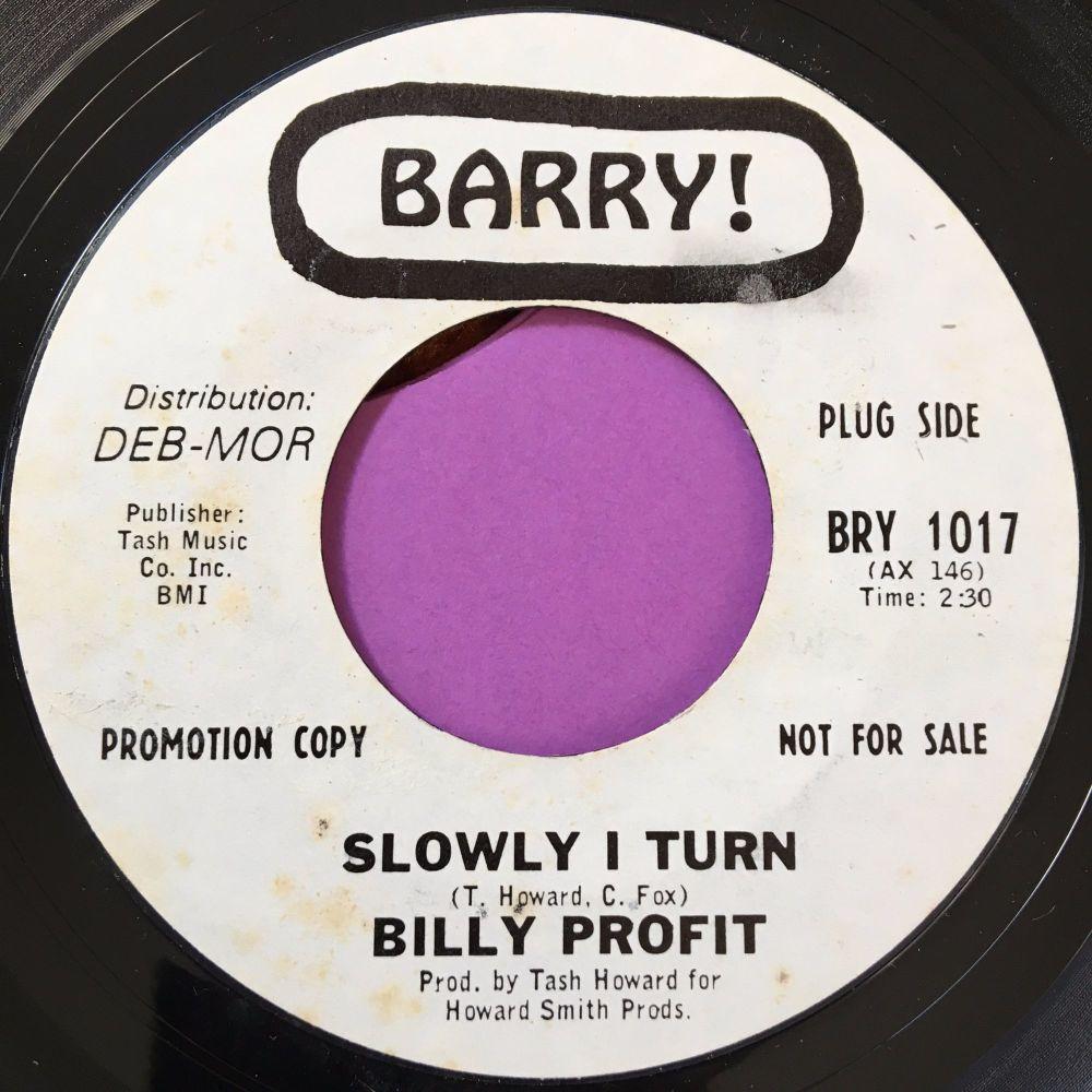 Billy Profit-Slowly I turn-Barry WD E+