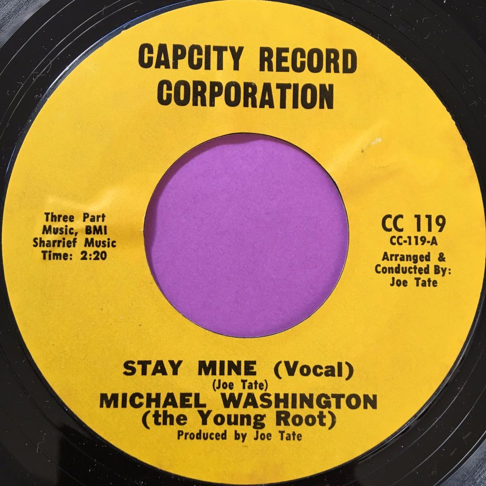 Michael Washington-Stay Mine-Capcity M-