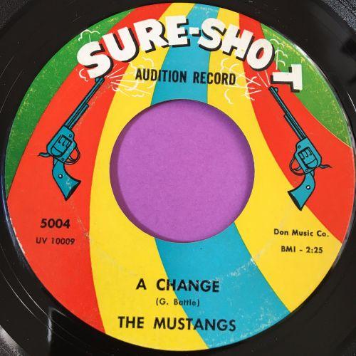 Mustangs-A change-Sure shot E+