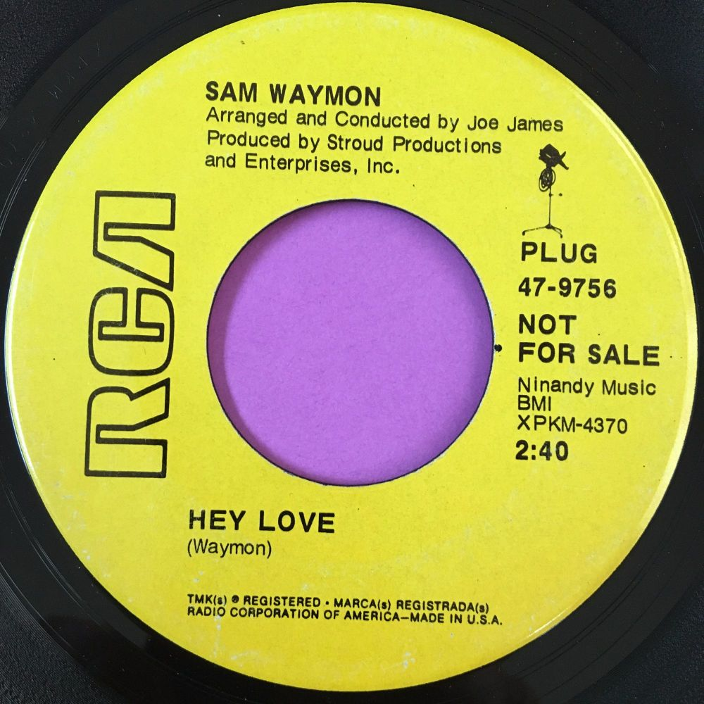 Sam Waymon-Hey love-RCA Demo E+
