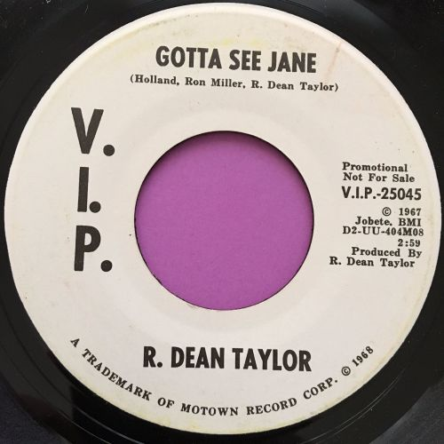 R.Dean Taylor-Gotta see Jane-VIP WD M-