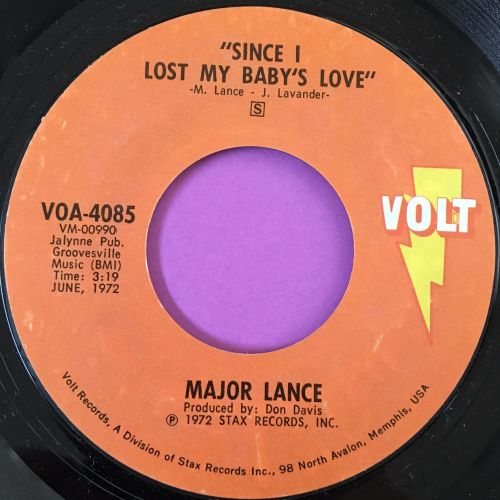 Major Lance-Since I lost my baby's love-Volt E+