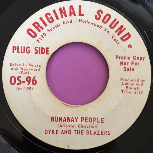 Dyke and the blazers-Runaway people-Original sound E