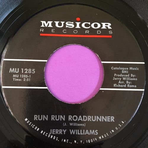 Jerry Williams-Run run roadrunner-Musicor E+