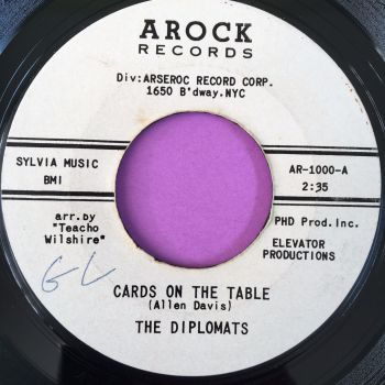Diplomats-Cards on the table-Arock WD wol E+