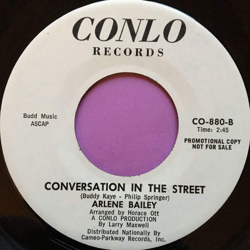 Arlene Bailey-Conversation in the street-Conlo E+