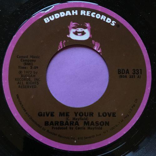 Barbara Mason-Give me your love-Buddah M-