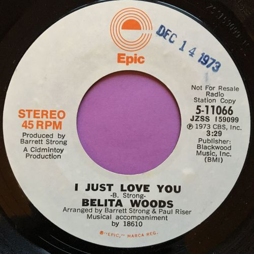Belita Woods-I just love you-Epic demo E+