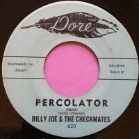 Billy Joe and Checkmates-Percolator-Dore E+