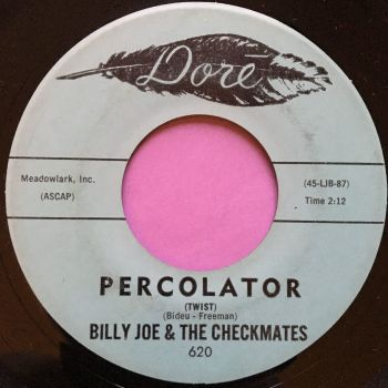 Billy Joe and Checkmates-Percolator-Dore E+