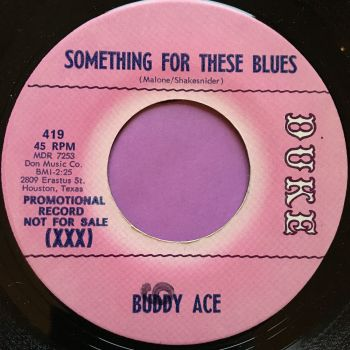 Buddy Ace-Something for the blues-Duke demo E+