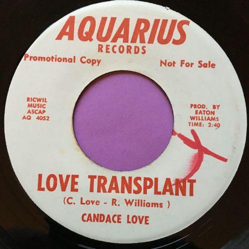 Candace Love-Love transplant-Aquarius WD M-