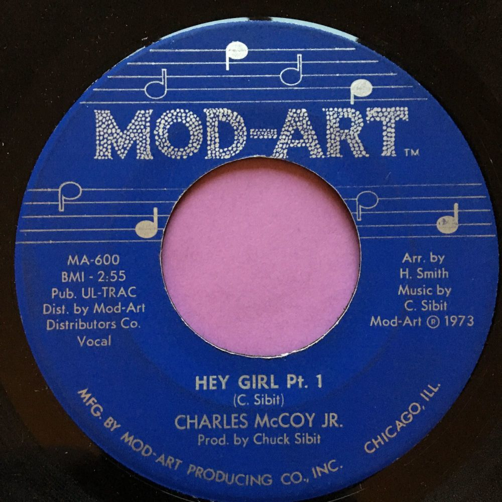 Charles McCoy-Hey girl-Mod art E+