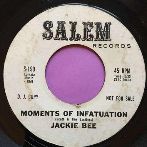 Jackie Bee-Moments of infatuation-Salem WD vg+