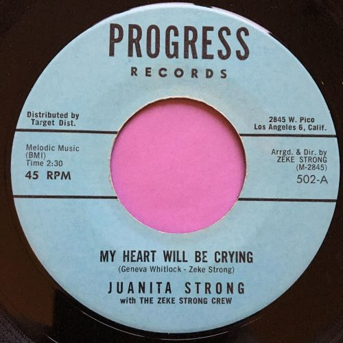 Juanita Strong-My heart will be crying-Progress E+