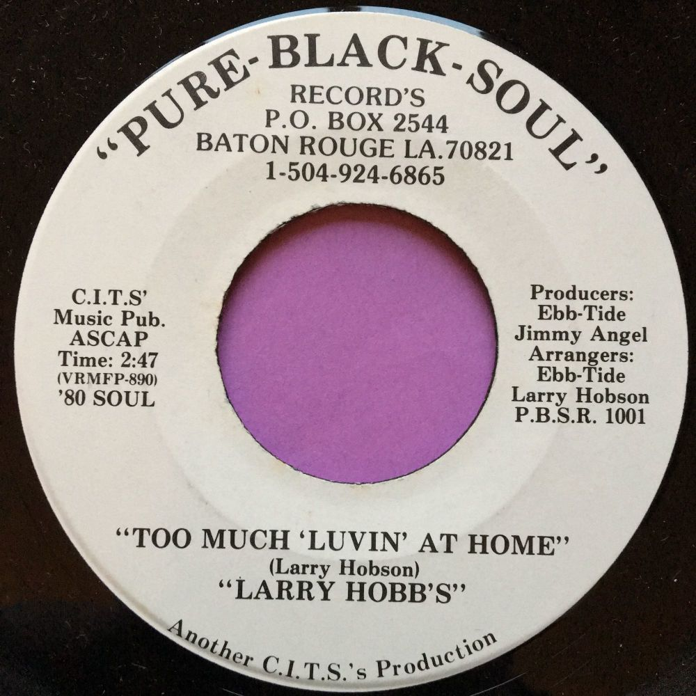 Larry Hobbs-Too much lovin` at home-Pure-black E+